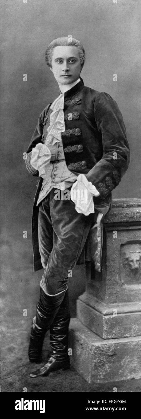 Charles le Bargy as Perdican in 'On ne badine pas avec l'amour', the play by Alfred de Musset at Comedie Francaise.  CB: French Stock Photo