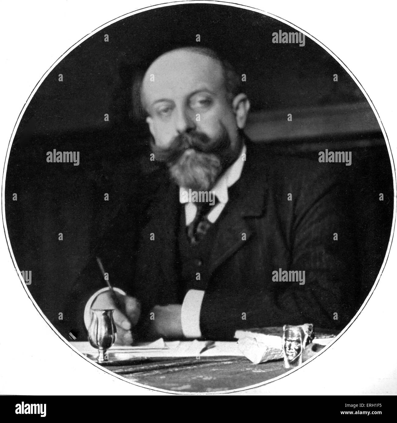Willy - French playwright ( full name Henry Gauthier-Villars) - Stock Image
