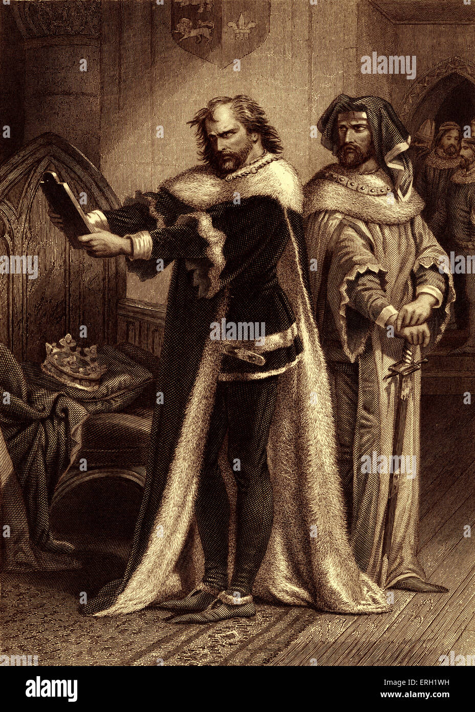 a literary analysis of the play richard by william shakespeare Richard iii summary william shakespeare  battle of bosworth field in the play's final act, richard iii is a dramatization of actual historical events that concluded in the year 1485, when the.