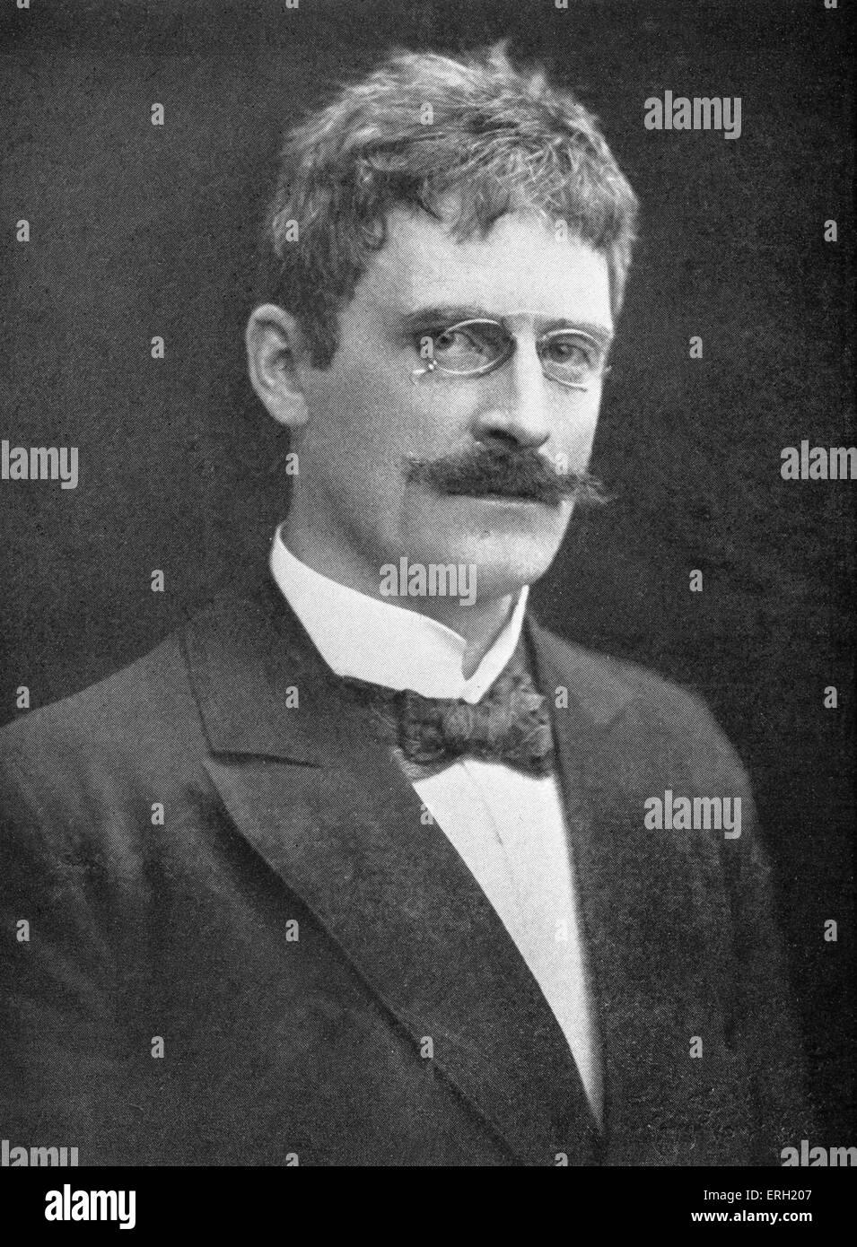 Norwegian Author Winner Of The 1920 Nobel Prize For Literature