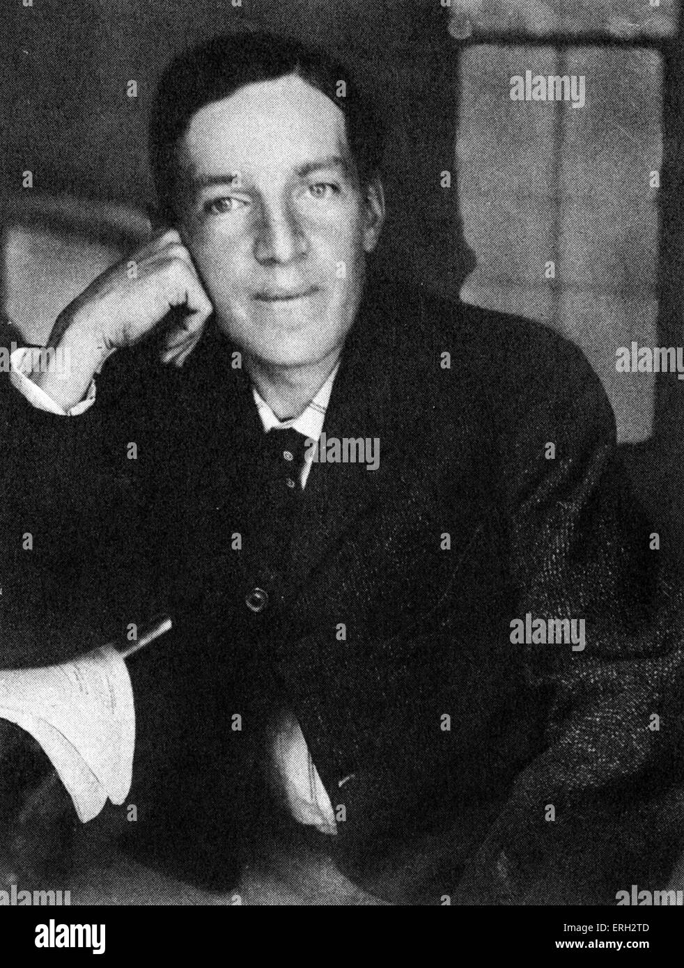 Upton Sinclair c.1906. American author, wrote 'The Jungle'. 20 September 1878 – 25  November 1968. - Stock Image