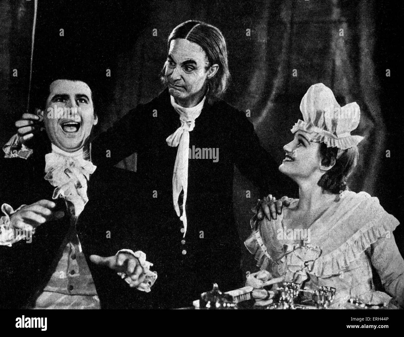 'The Good Natured Man' by Oliver Goldsmith, with Constance Cummings, Stewart Granger and Robert Donat at - Stock Image