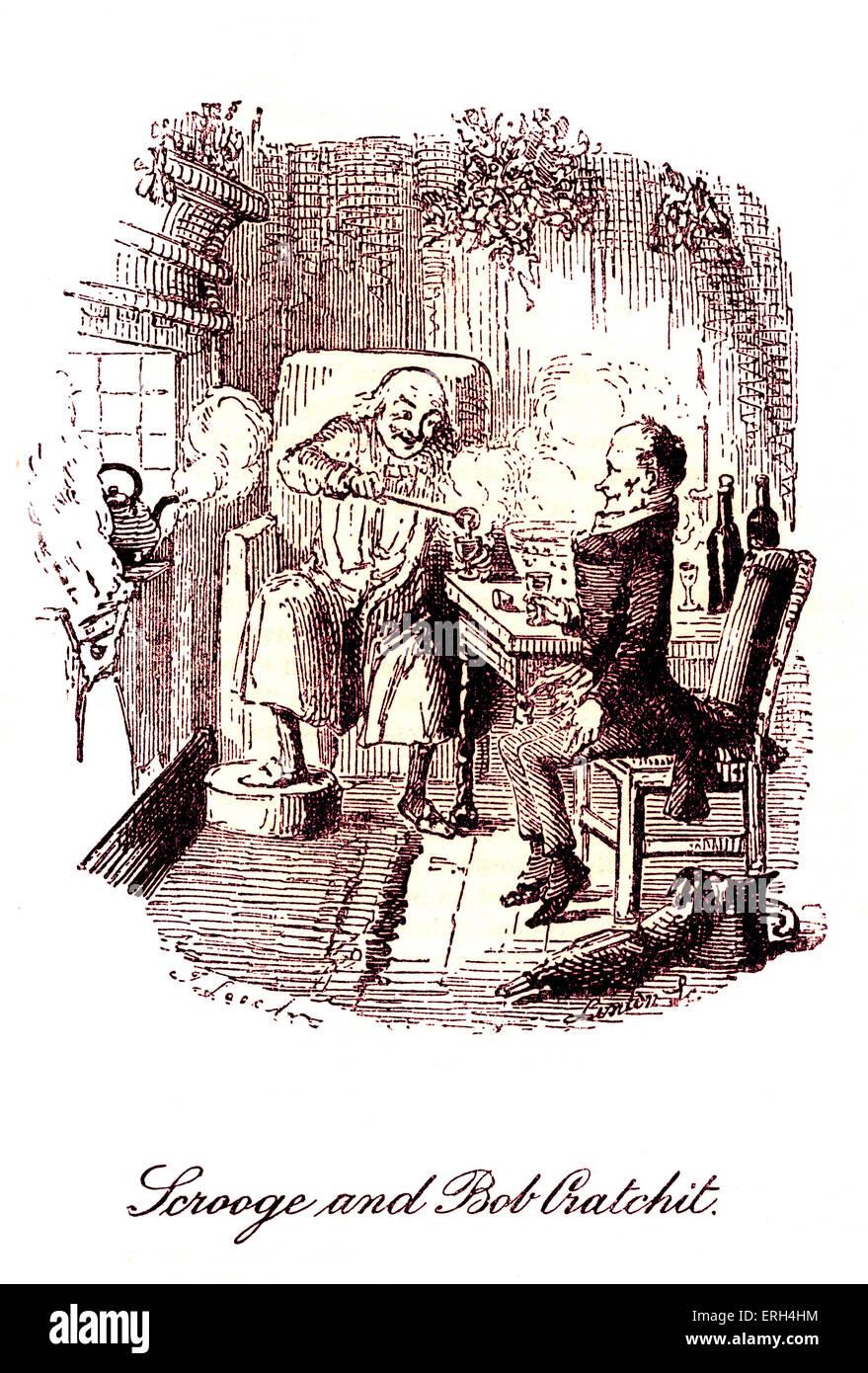 Christmas Carol Scrooge Drawing.A Christmas Carol 1843 By Charles Dickens 7 February 1812