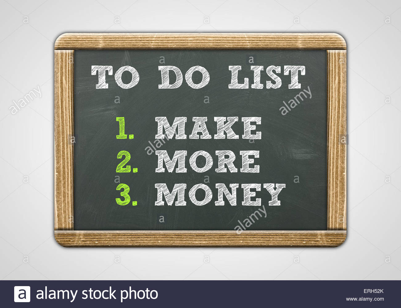 Make More Money - Stock Image