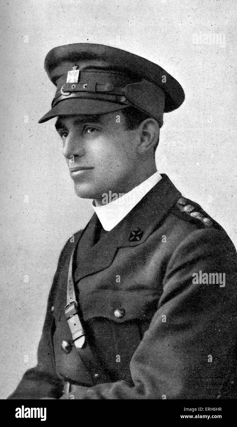 Geoffrey Anketell Studdert Kennedy - English Anglican priest and World War I poet. 27 June  1883 - 8 March 1929. - Stock Image