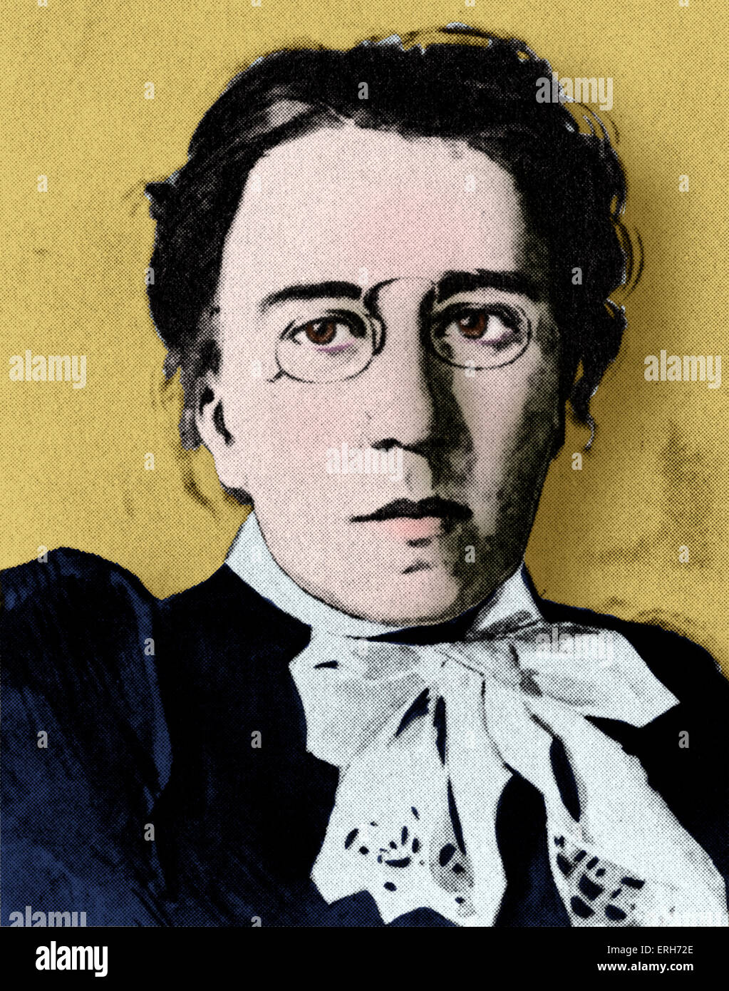 Emma Goldman c. 1911, American political activist and anarchist. 27 June 1869 – 14 May 1940. - Stock Image
