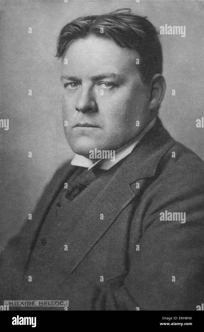 Hilaire Belloc - portrait of t...