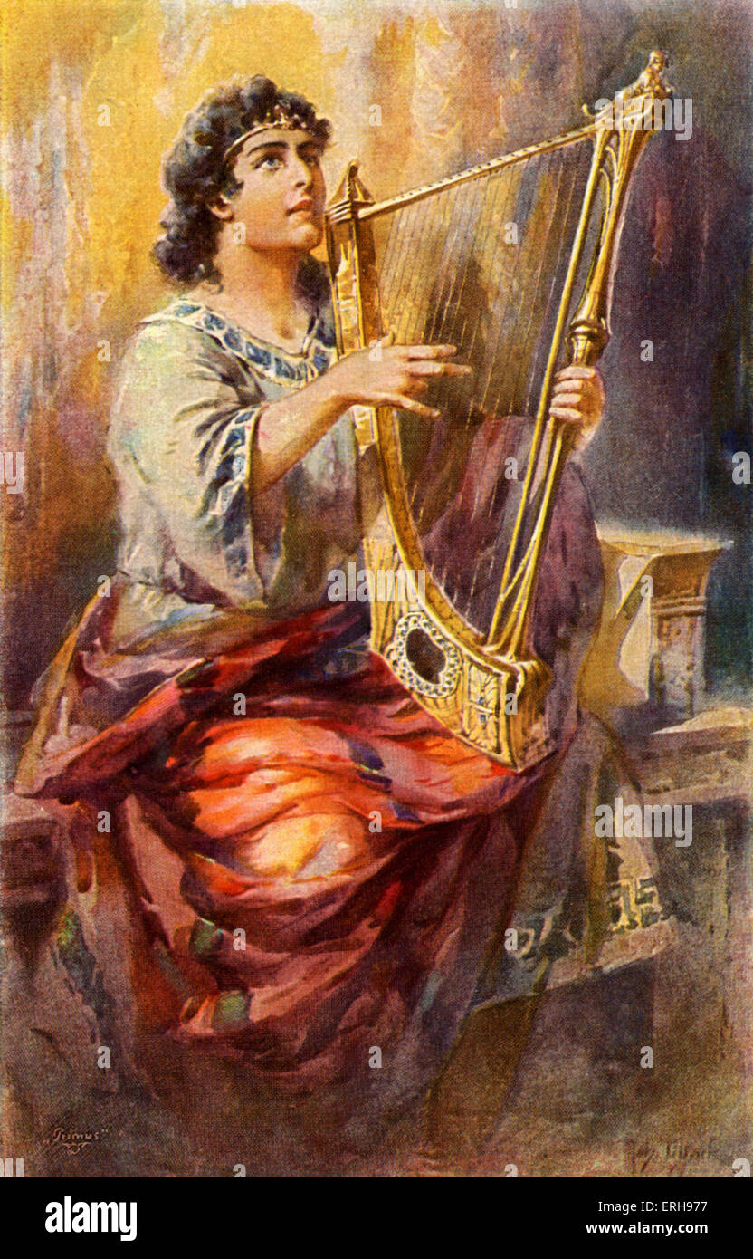 Image result for images of david with harp