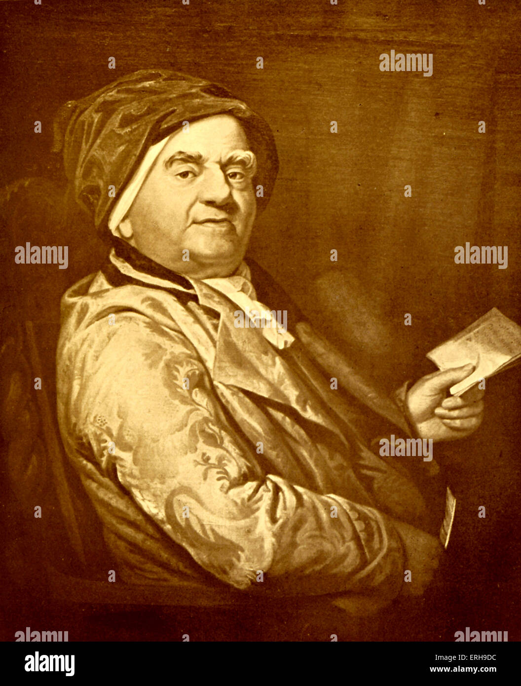Samuel Parr  - English minister, schoolmaster and political writer.  26 January 1747 – 6 March 1825. - Stock Image