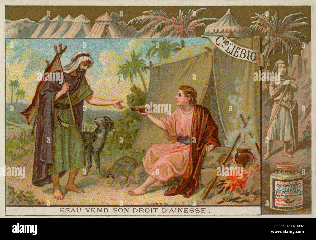 jacob and esau the birthright Isaac became old he gave jacob a blessing it was the birthright blessing isaac said jacob would be a great man he would be the leader of esau and many other people.