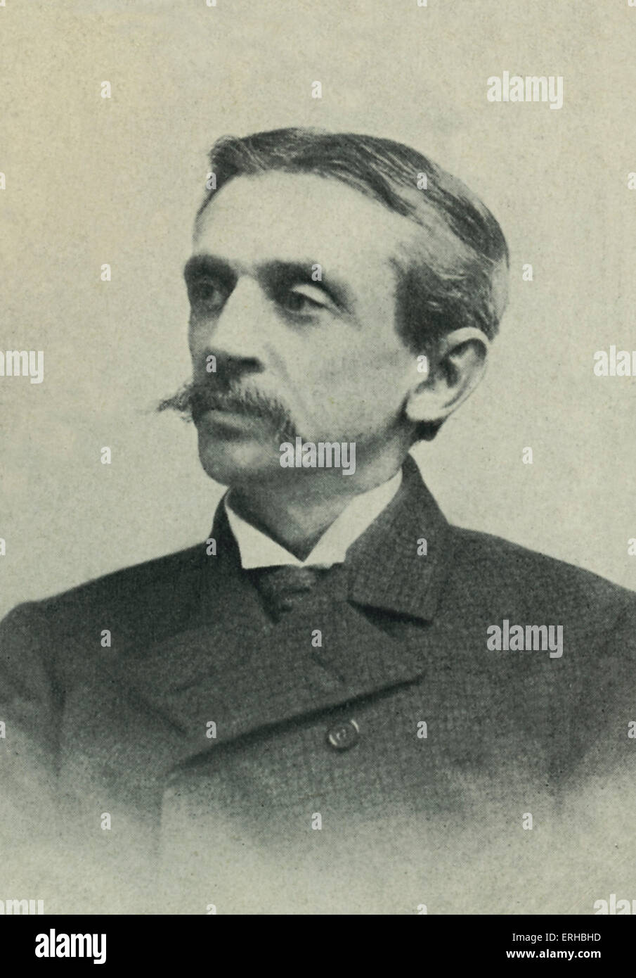 Frank Richard Stockton (1834 – 1902) - American writer and humorist. Stock Photo