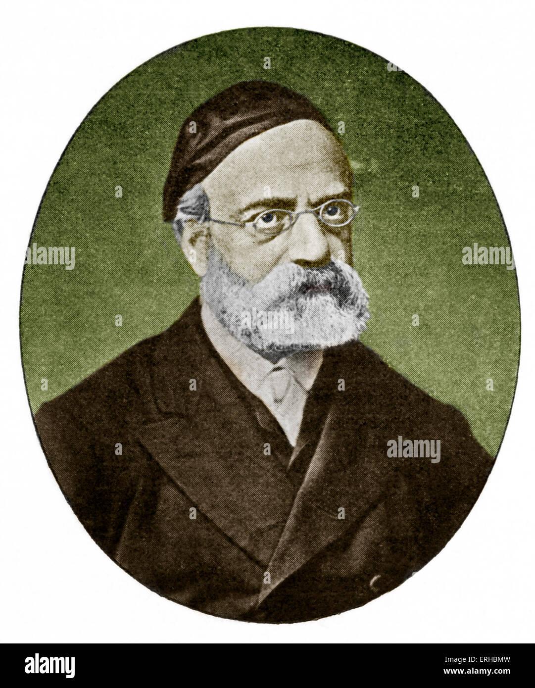 Rabbi Samson Raphael Hirsch - intellectual founder of the Torah im Derech Eretz. 20 June 1808 - 31 December 1888. - Stock Image