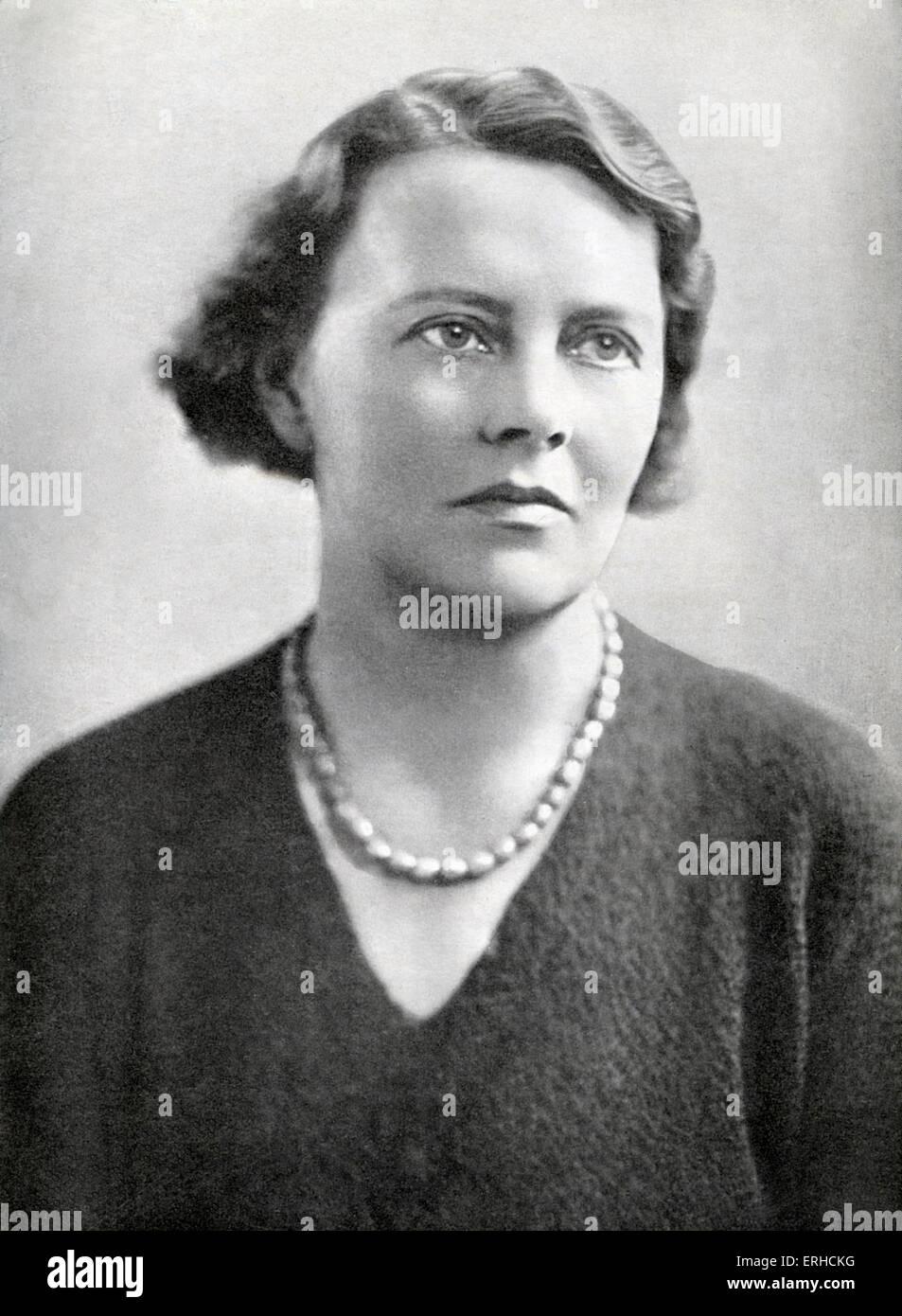 Margaret Storm Jameson, English journalist and author, 8 January 1891 – 30 September 1986. - Stock Image