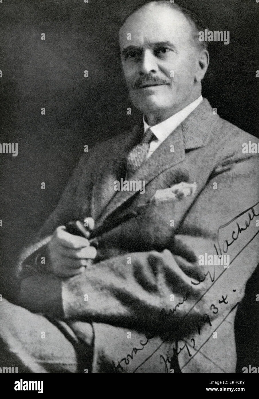 H A Vachell, Horace Annesley Vachell, English writer, 30 October 1861 - 10 January 1955. - Stock Image