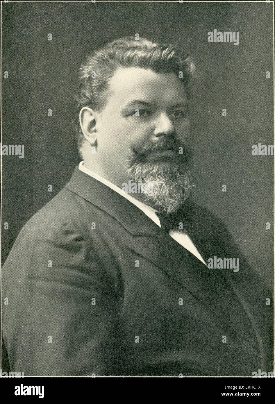 Karel Halíř, Czech violinist. 1 February 1859 – 21 December 1909. - Stock Image