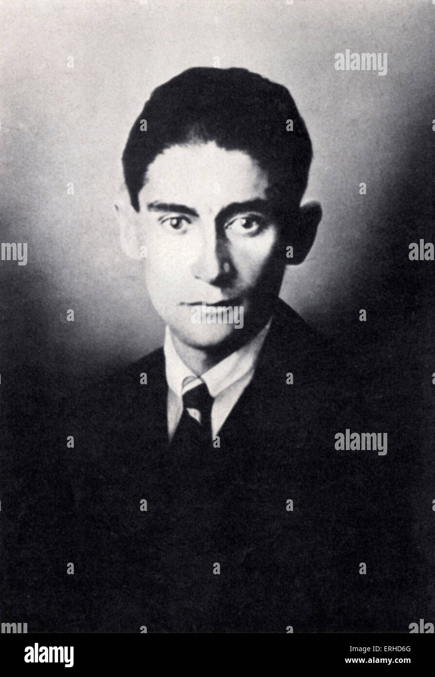 Portrait Franz Kafka Stock Photos