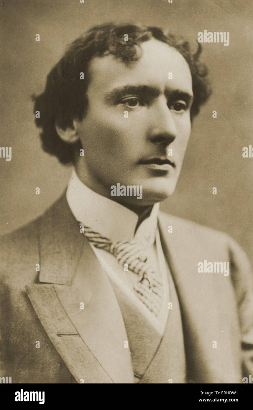 H B Irving - British actor-manager, son of Sir Henry Irving 5 August 1870 - 20 October 1919.  H(enry) B(rodribb) - Stock Image