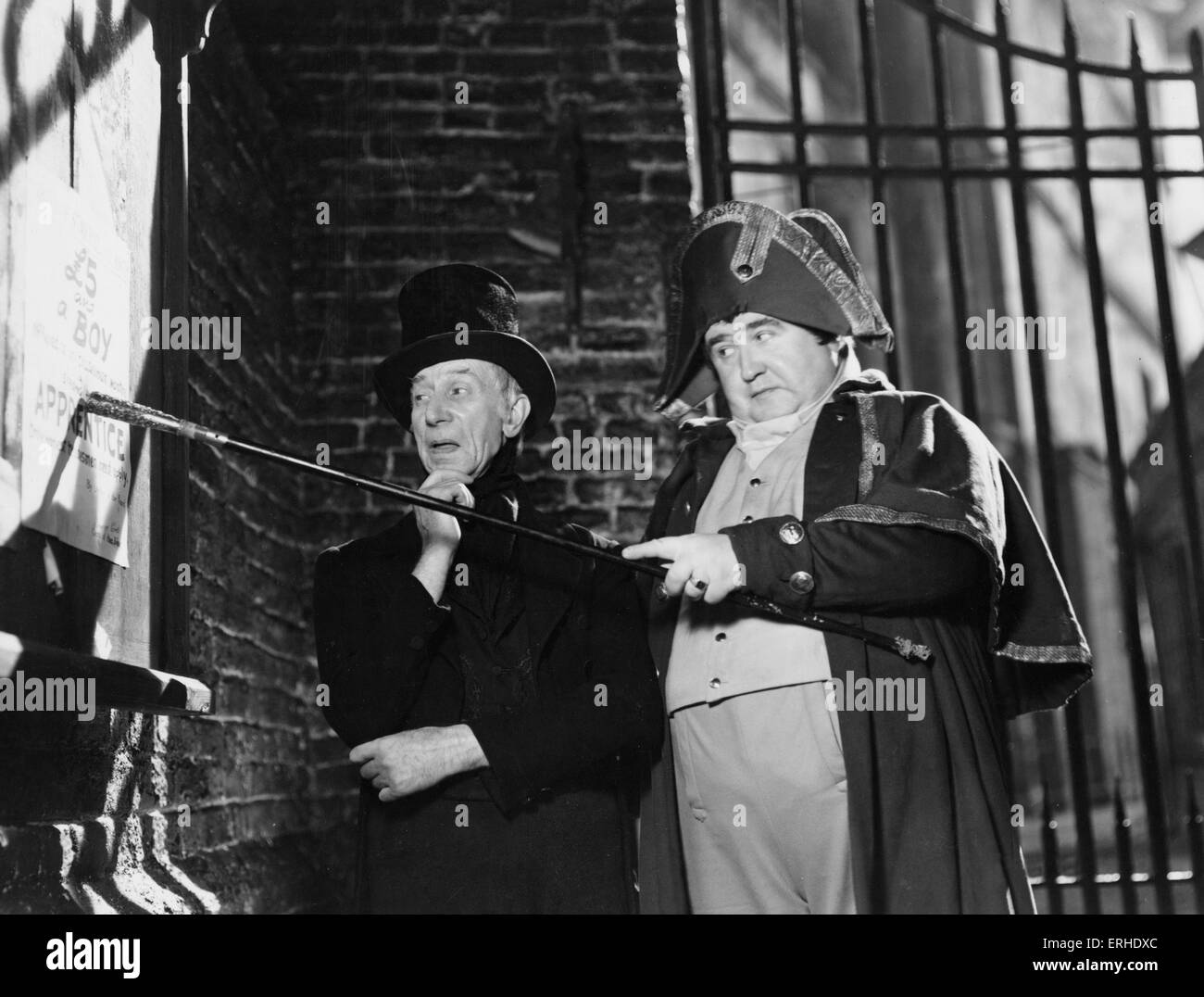 Oliver Twist. Film still from 1948 Rank Film production of Charles Dickens ' book. British novelist, 7 February - Stock Image