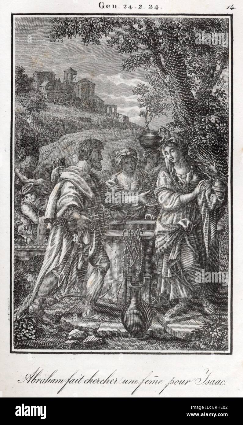 bible rebecca at the well abraham s servant is sent to find a wife