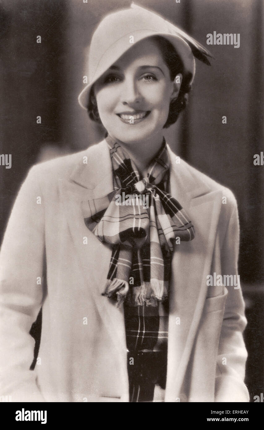 Norma Shearer -  Canadian-born American actress. Silent screen film star. 10 August 1902- 12 June 1983. Publicity - Stock Image