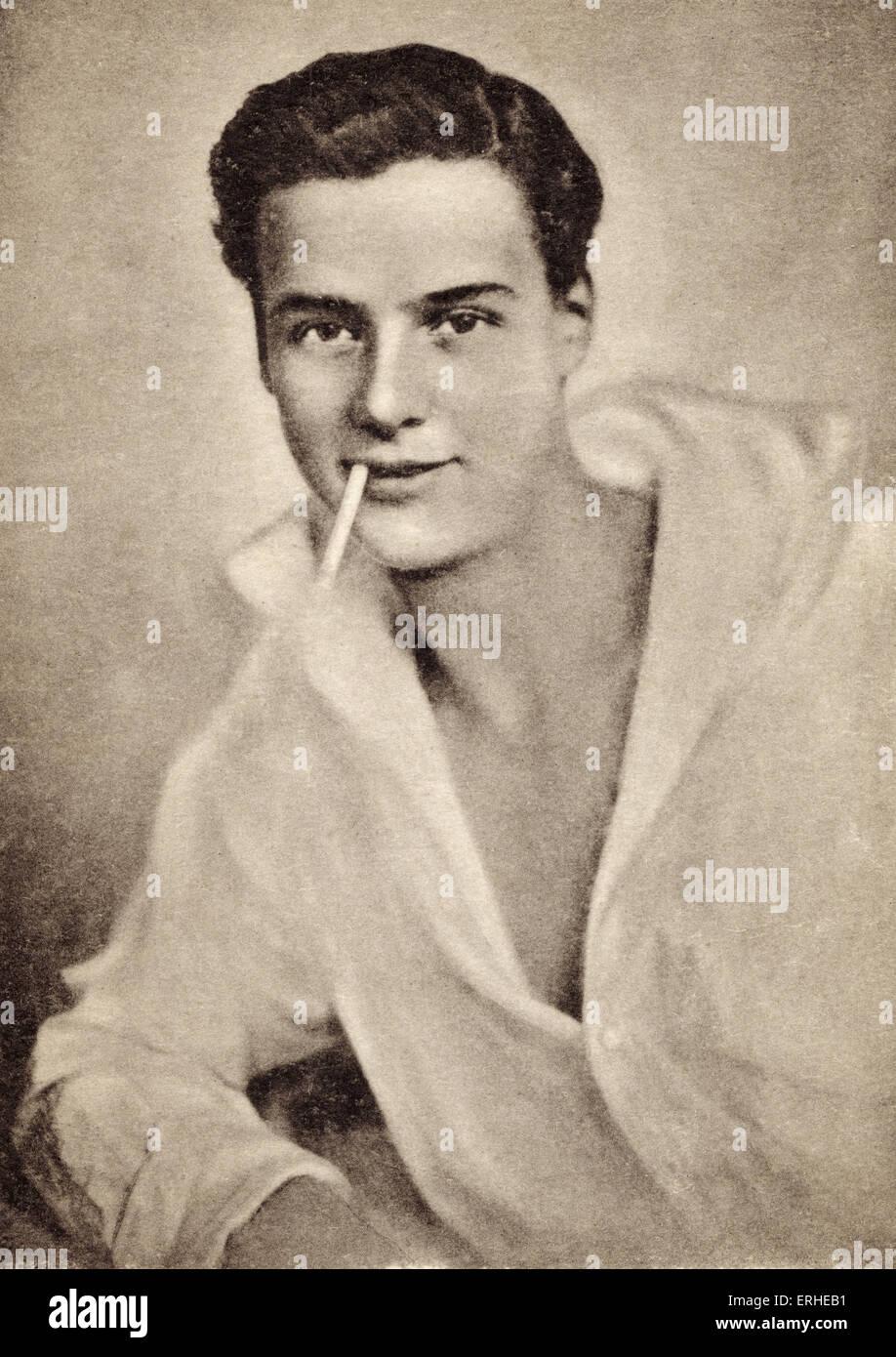 Walter Slezak - Austro-Hungarian actor and son of the Wagnerian opera singer Leo Slezak.  1902-1983. Publicity still. - Stock Image
