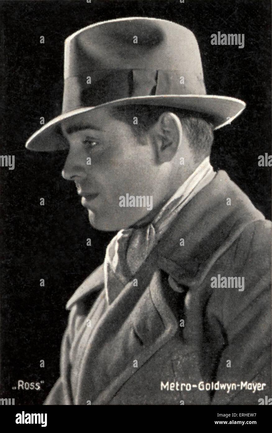 Clark Gable, portrait, wearing hat. American film actor 2 February 1901 - 16 November 1960 - Stock Image