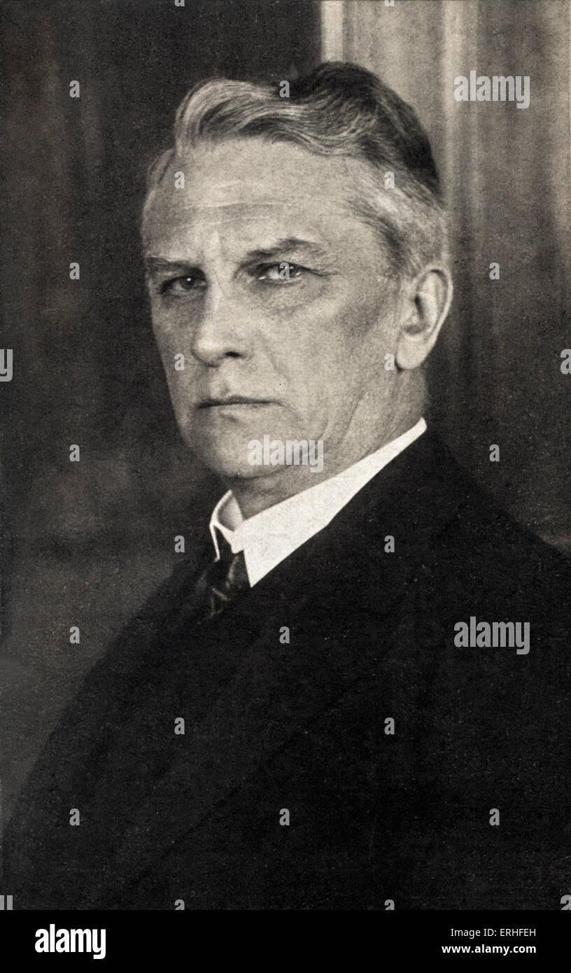 Georg Ledebour - portrait - German politician 7 March 1850 - 31 March 1947 - Stock Image