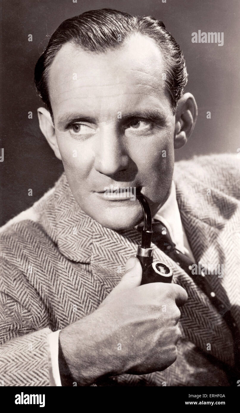 Trevor Howard - portrait. British actor, 29 September 1913 - 7 January 1988 - photo: J. Arthur Rank Organisation - Stock Image