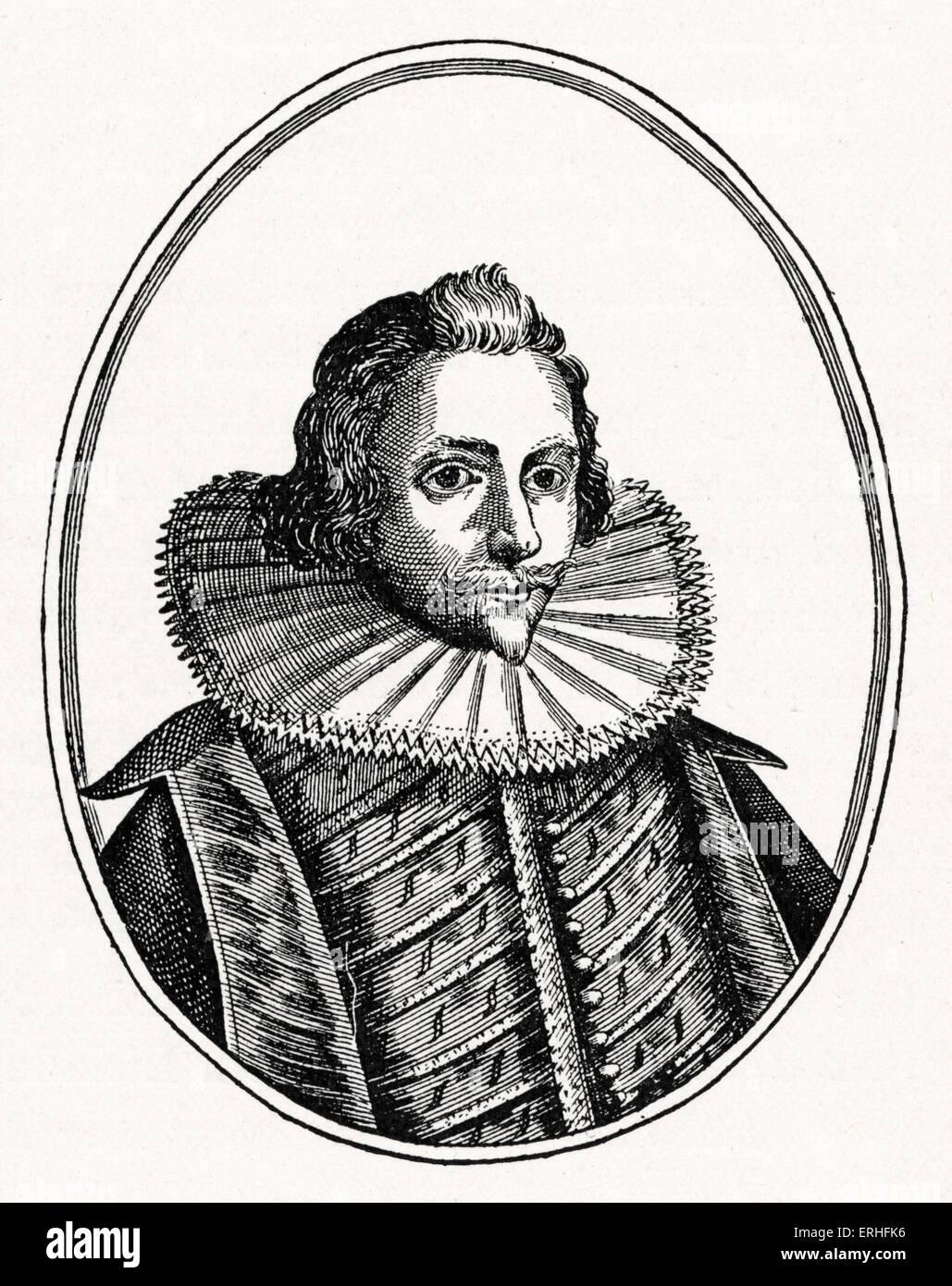 Sir Philip Sidney - portrait - English poet and sonnet writer - 30 November 1554 - 17 October 1586 - Stock Image