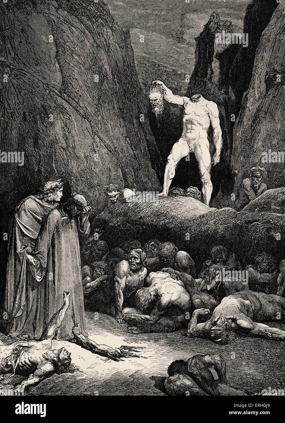 a review of dantes canto xxviii Gustave doré - dante's divine comedy, inferno canto xxviii, the severed head of bertran de born speaks - 1866 in the final line of canto xxviii the sinner bertran de born holds up his cut-off head by the hair and says 'in me you may observe fit punishment' ('così s'oserva in me lo contrapasso', inf xxviii, 142.