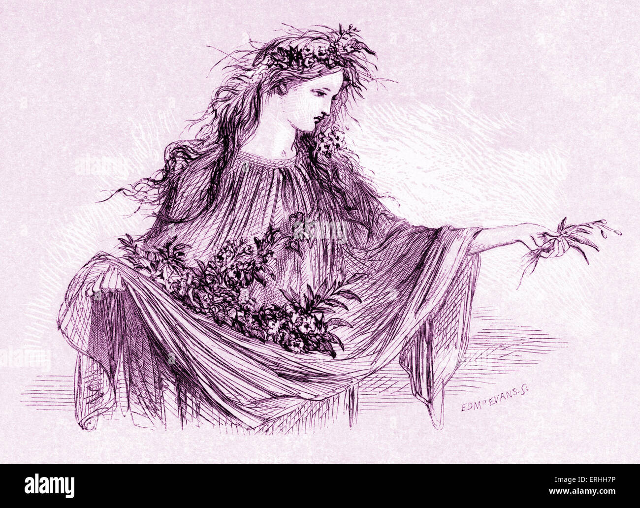 a comparison of ophelia and gertrude two characters in hamlet a play by william shakespeare Shakespeare homepage | hamlet | entire play act i  queen gertrude, hamlet, polonius,  and my father died within these two hours ophelia nay,.