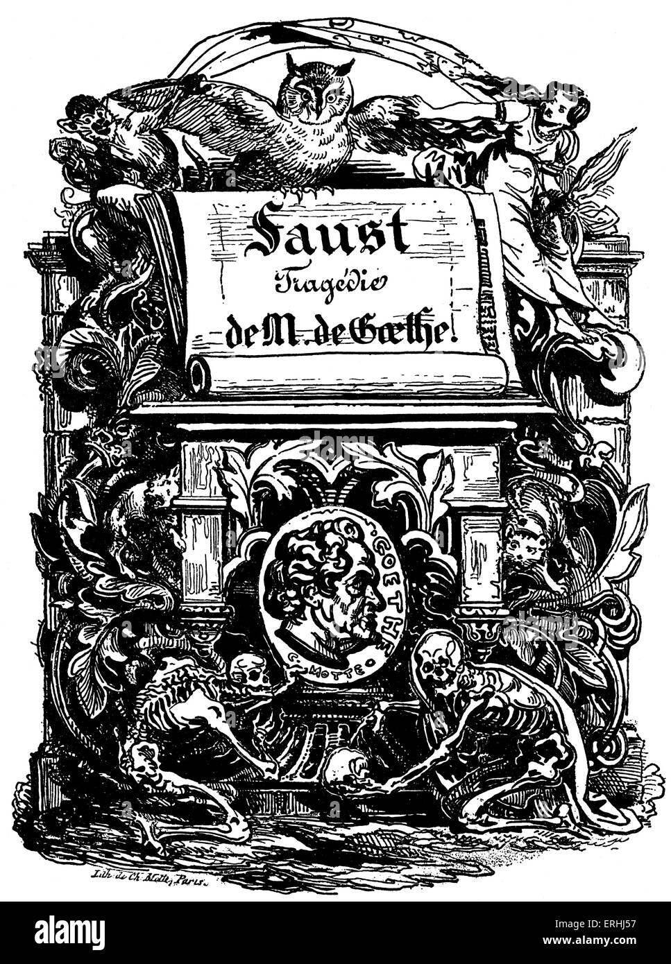 an analysis of the play faust by johann goethe Introduction faust, goethe's great dramatic poem in two parts, is his crowning work even though it is based on the medieval legend of a man who sold his soul t about faust, parts 1 and 2.