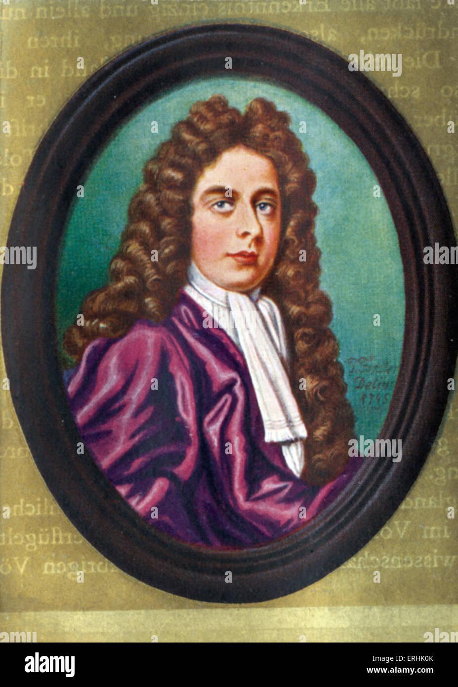 John Churchill. Portrait of the 1st Duke of Marlborough. 26 May 1650 – 16 June 1722 - Stock Image