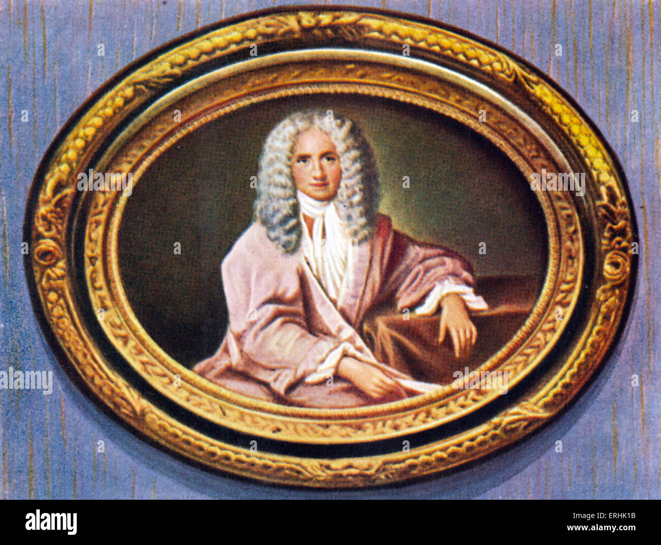 Voltaire. Portrait of the French writer and philosopher. Born as François-Marie Arouet. 21 November 1694 – 30 May 1778 Stock Photo