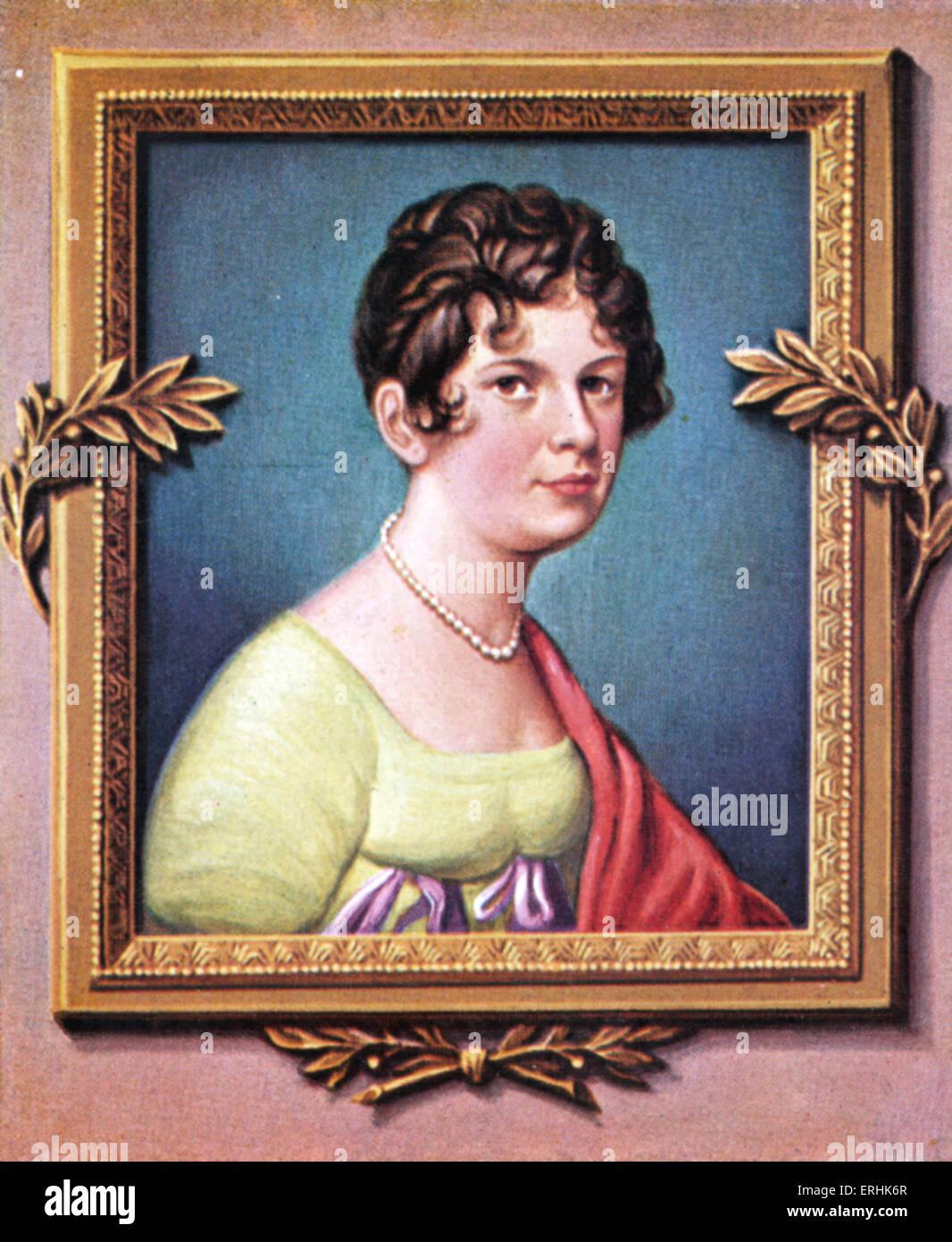 Madame de Lefebvre. Portrait of the Duchess of Danzig, wife of François Joseph Lefebvre, Marshal of France. She Stock Photo