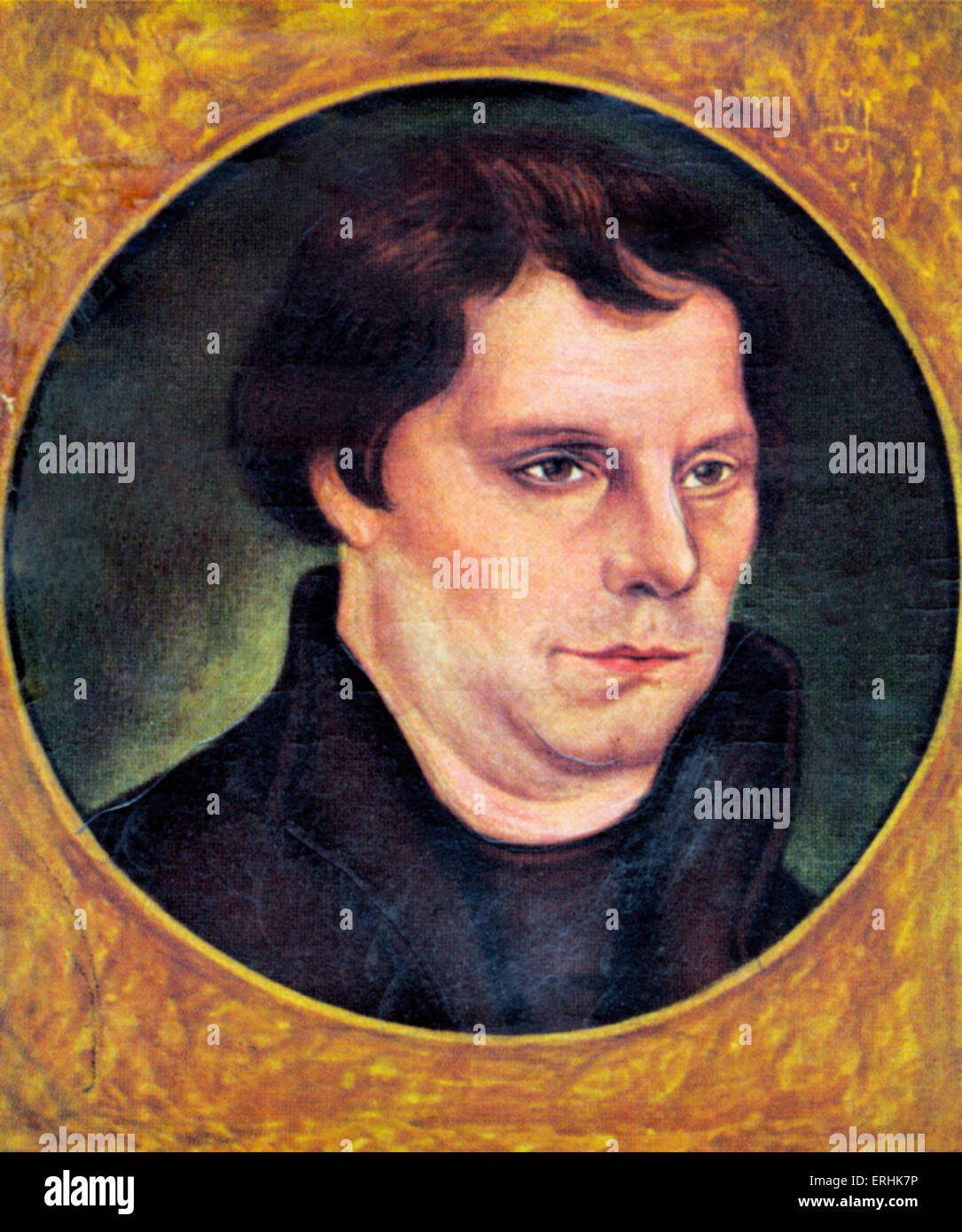 Martin luther monk