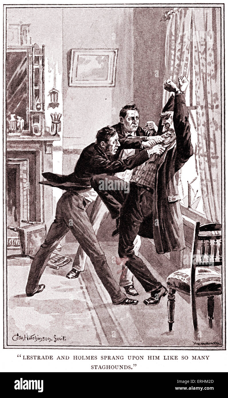 A Study In Scarlet - Illustrated By Arthur Conan Doyle