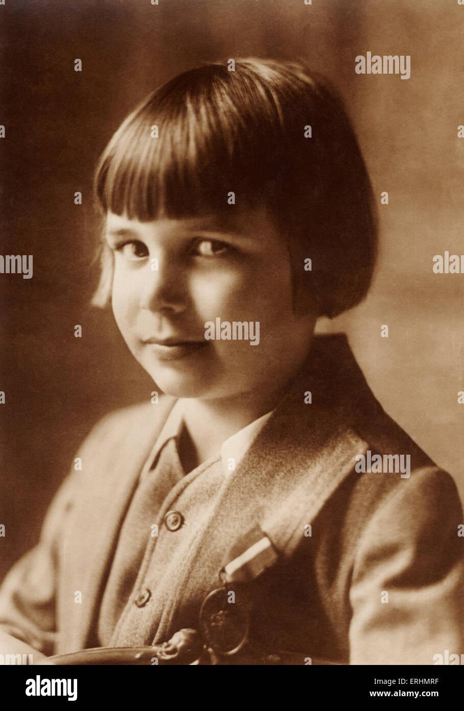 John Leslie (Jackie) Coogan - American actor. Began career as a child star in silent films.  Series called: Les - Stock Image