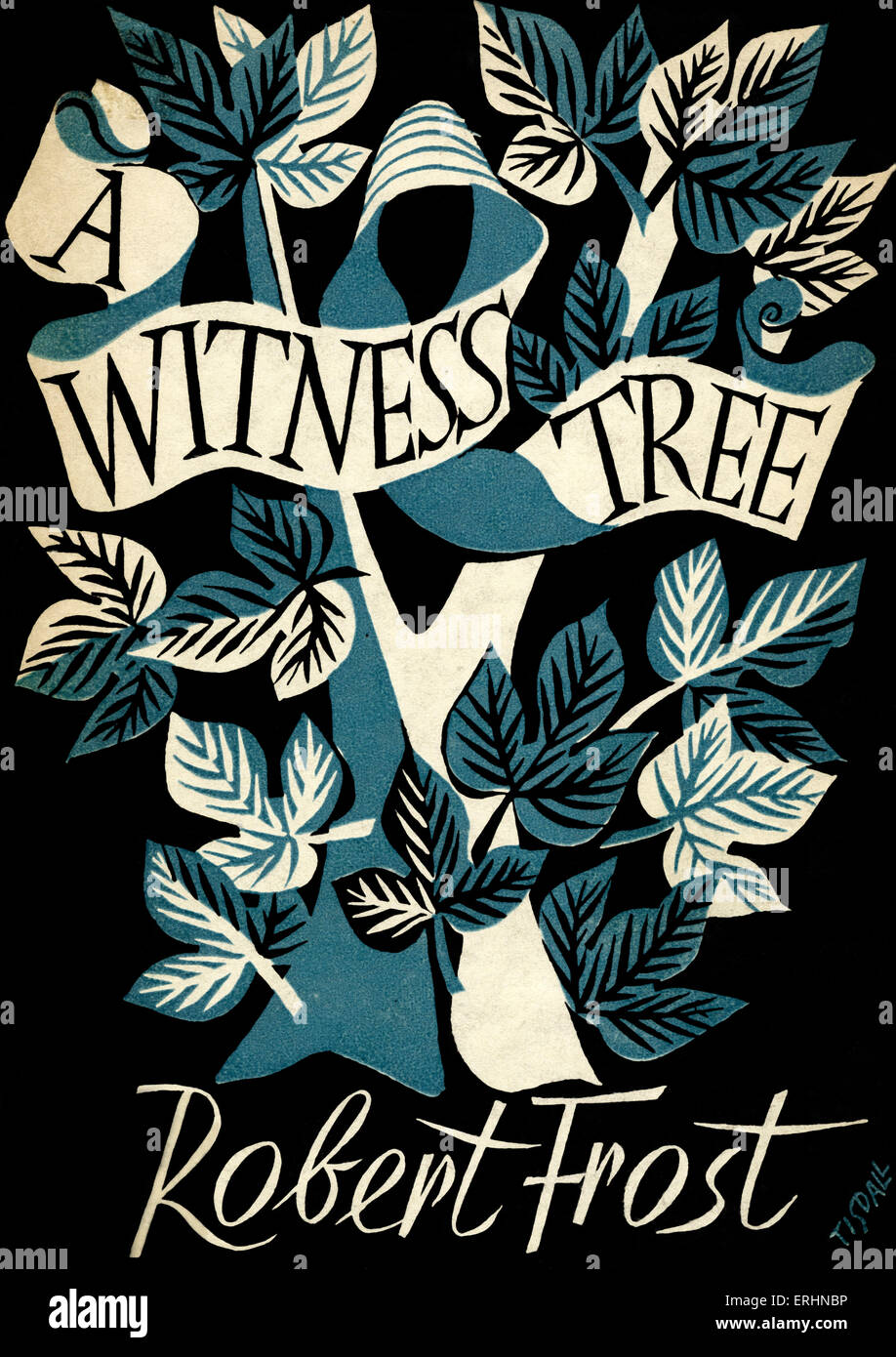 A Witness Tree by Robert Frost - Book cover  A collection of
