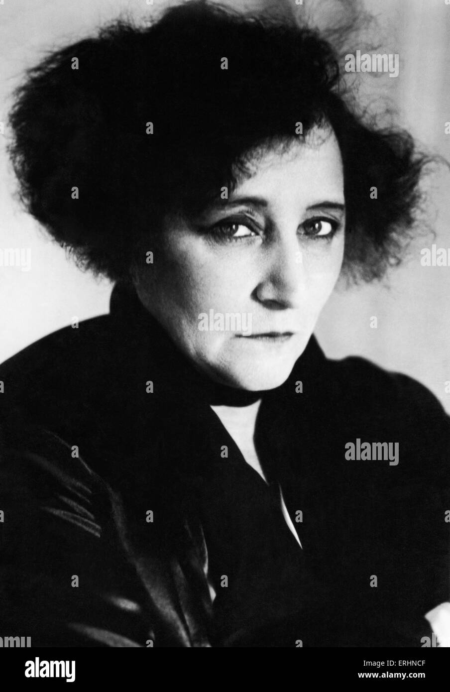 COLETTE, Sidonie Gabrielle   - French literary figure of first half of 20th century.  Wrote the libretto for Ravel's - Stock Image