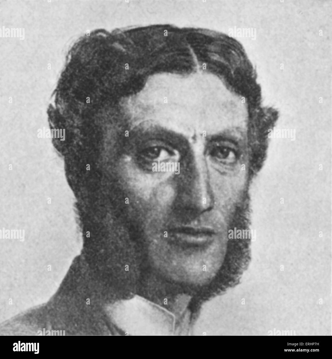 Matthew Arnold - poet and literary critic. 24 December 1822 – 15 April 1888. - Stock Image