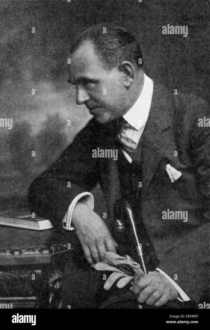 Edward Phillips Oppenheim - English novelist, 22 October 1866 - 3 February 1946. - Stock Image