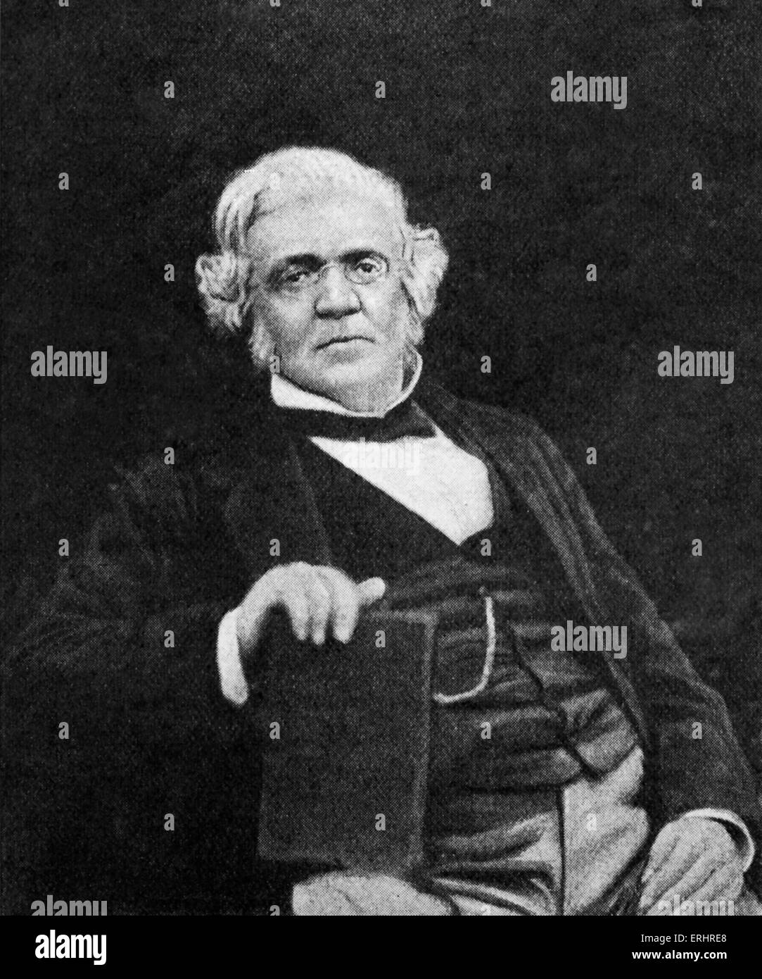 William Makepeace Thackeray - English novelist, 18 July 1811 - 24 December 1863. - Stock Image