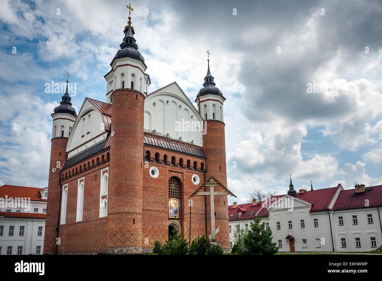 Suprasl Church Defensive Orthodox Monastery Stock Photo