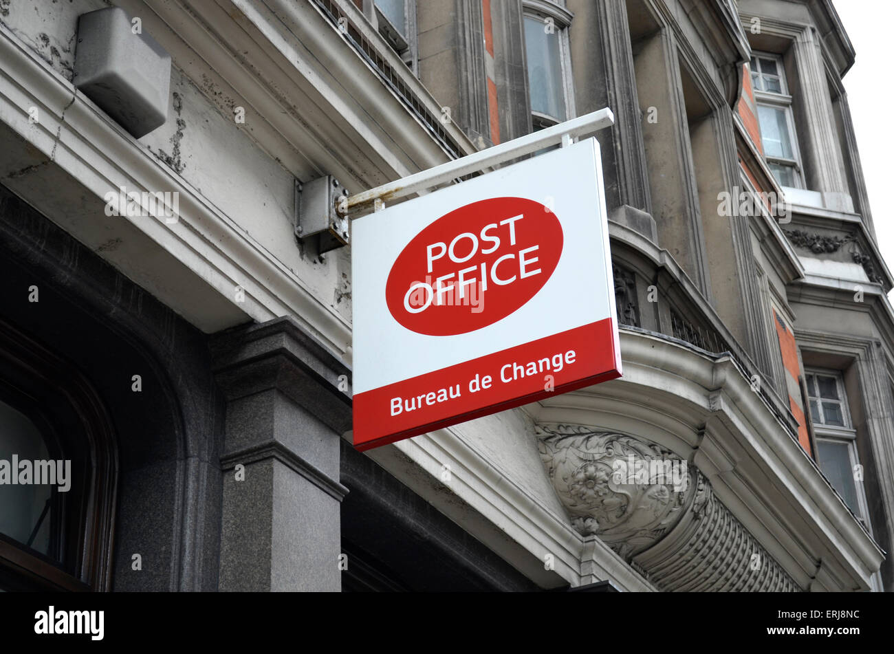 Post Office London sign - Stock Image