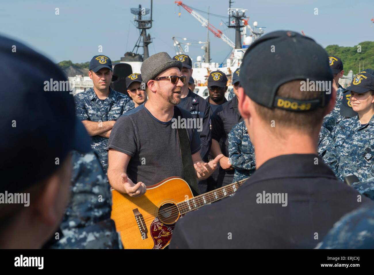 Two-time Grammy award-winner and founding member of the band Sugarland, singer Kristian Bush, performs for U.S. - Stock Image