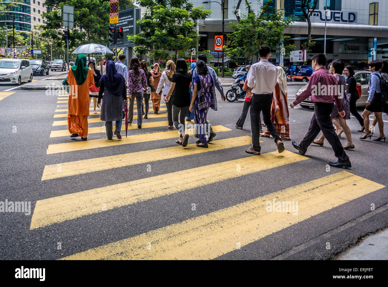People Walking In Kuala Lumpur High Resolution Stock Photography And Images Alamy