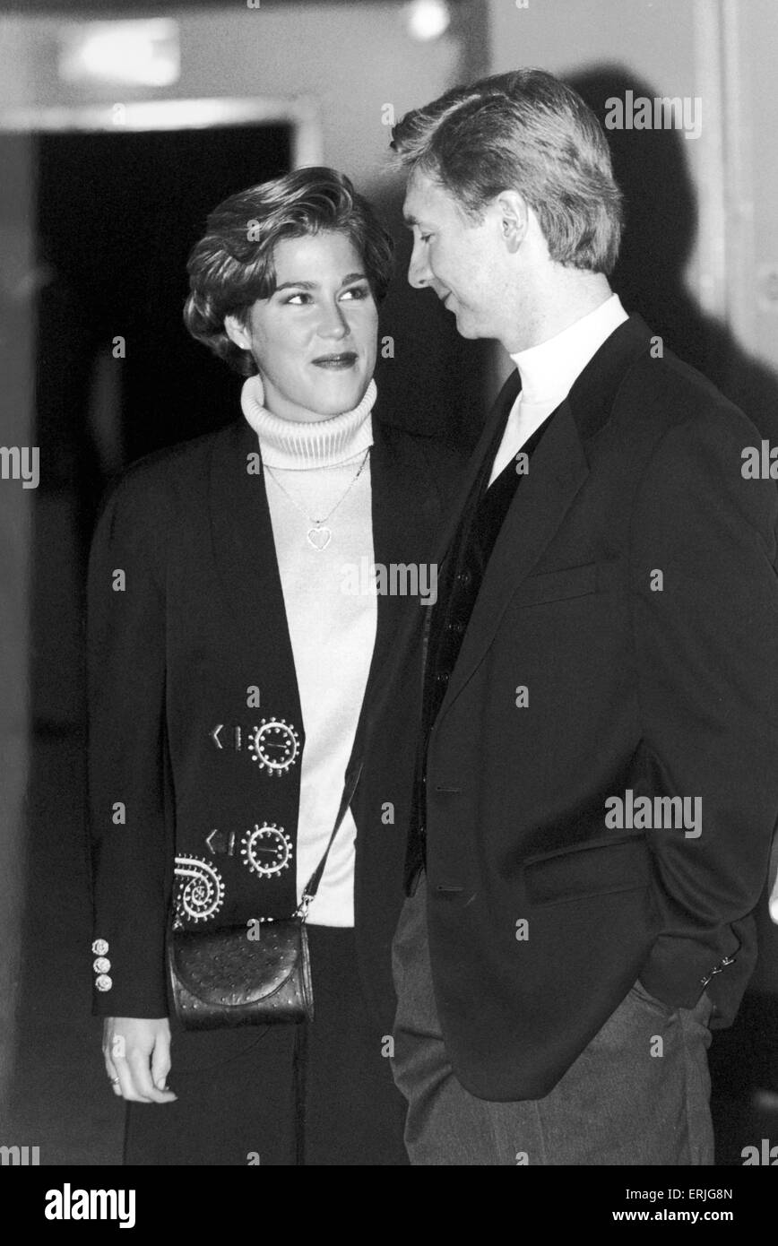 Christopher Dean and Jill Trennary. 10th January 1994. - Stock Image