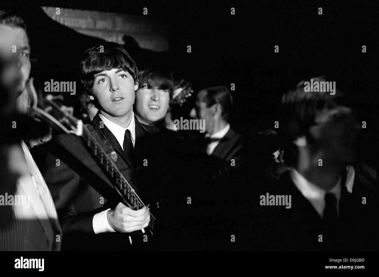 The Beatles 1964 American Tour Indianapolis, Indiana State Fair Coliseum. 3rd September 1964 - Stock Image