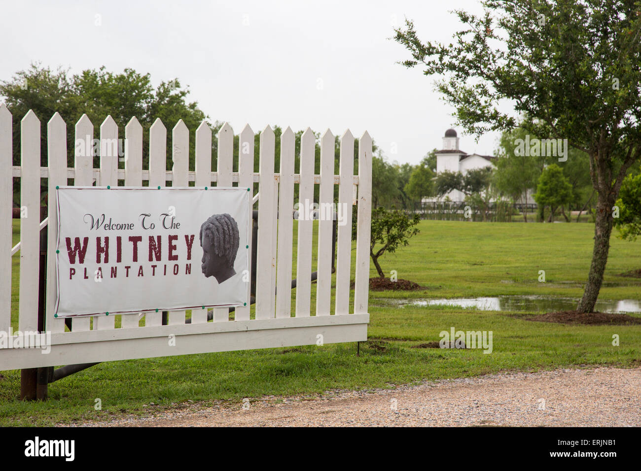 Wallace, Louisiana - The Whitney Plantation, a sugar plantation that has been turned into a museum to tell the story - Stock Image